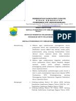 331071911-Sk-Petugas-Pemantau-Pelaksanaan-Kegiatan-Perbaikan-Mutu-Pelayanan-Klinis.doc