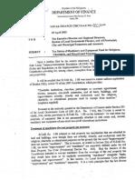 DOF Local Finance Circular No 001-2002
