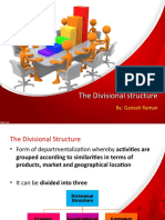 Structure of manager