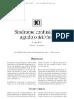 Si¦ündrome confusional agudo o delirium