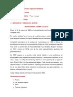 Análisis de La Lectura de Paco Yunque
