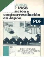 """Clase III - Akamatsu; """"Meiji 1968. Revolución y Contra Revolución en Japon"""""""