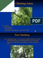 Tree Climbing Safety Eckert HiOSH March 2012 - Inspeções