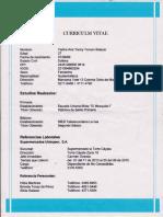 Curriculum Yadira