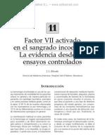Factor VII Activado en El Sangrado Incoercible La Evidencia Desde Los Ensayos Control a Dos