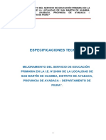 1. ESPECIFICACIONES TÉCNICAS