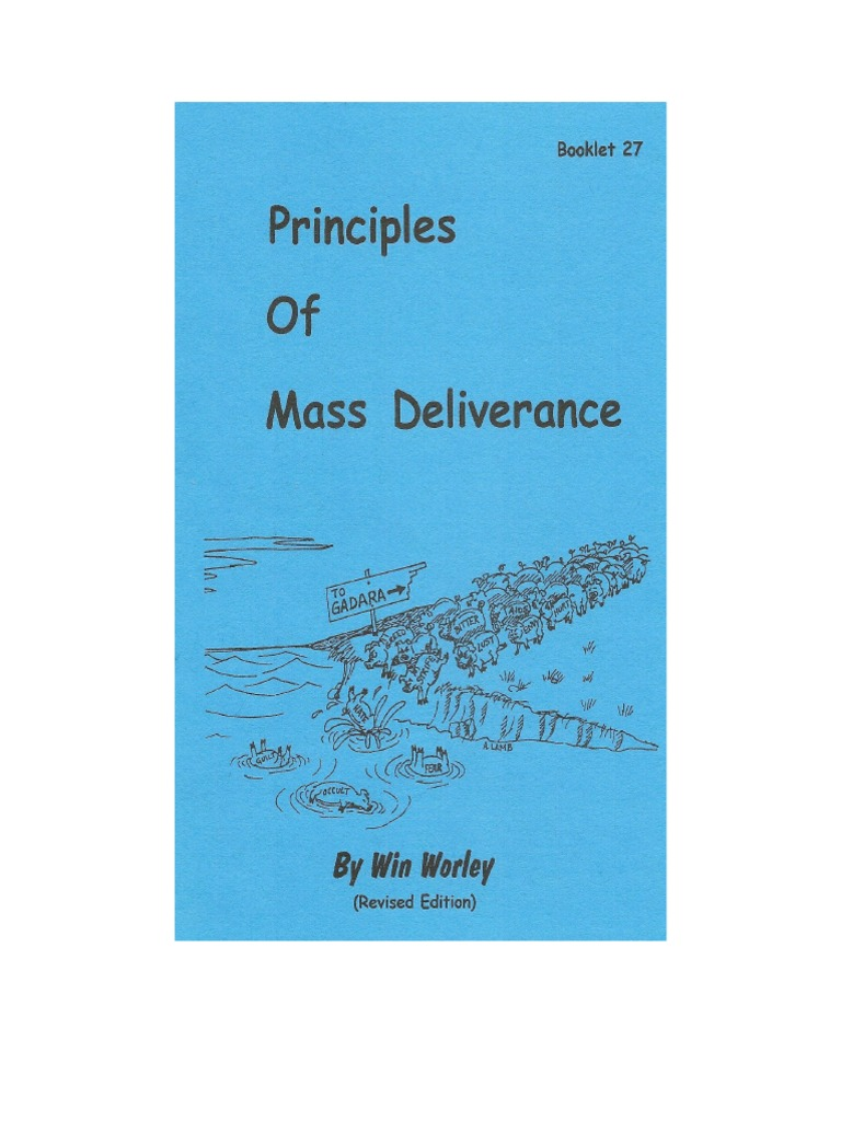 32149476 Principles of Mass Deliverance Win Worley | Tithe | Forgiveness