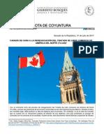 31-07-17 CANADÁ ANTE LA RENEGOCIACIÓN DEL TLCAN