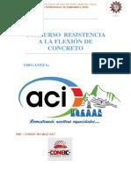 Bases Resistencia a La Flexin Del Concreto en Vigas Pre Coneic