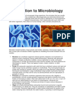 Microbiology Introduction
