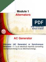 Module 1 Alternators