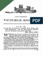 British North America Act 1867