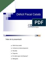 Deficit fiscal català