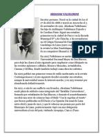 Biografia de Abraham Valdelomar