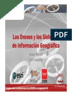 Civildron17-06 Los Drones y Los Sistemas de Informacion Geografica ESRI Fenercom-2017