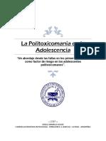 La Politoxicomanía en La Adolescencia