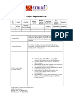Project Requisition Format - Graduation Project - PEOPLE 3