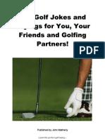 The Laws of Golf - 211 Golf Jokes
