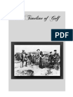 Milestones in Golf - 1353 to 1993