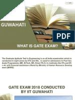 Gate 2018 Iit Guwahati