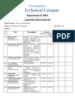 Lesson Plan HRM (203)