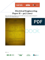 SSC JE Paper II - Electrical