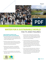 Water for Sustainable World