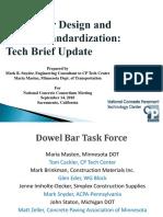 1 Snyder Dowel Bar Standardization
