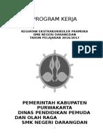Program Kerja Pramuka Smkn
