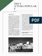 Urbanismo y Arquitectura Popular en Cadiz