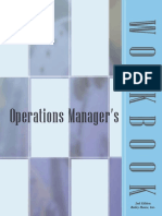 Operations Managers Work Book
