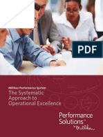The Systematic Approach to Operational Excellence