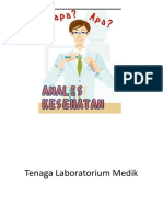 Tenaga Laboratorium Medik