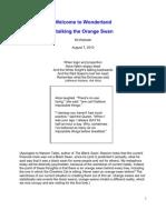 Orange Swans