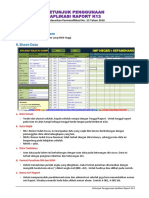 Petunjuk Penggunaan Aplikasi Raport