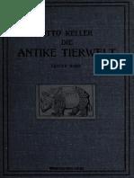 Keller_Die Antike Tierwelt. Band I Säugetiere.