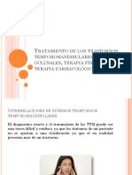 Tratamiento de Los Trastornos Temporomandibulares