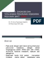 4-Anna tjandrajani - Penurunan kesadaran D dan Th anak sakit berat Final.pdf