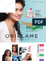 Oriflame India catalogue August 2017
