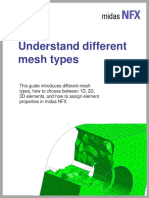 Understand Different Mesh Types-midas NFX