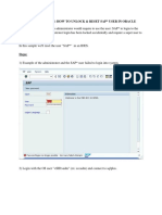 ADMINISTRATION HOW TO UNLOCK & RESET SAP USER IN ORACLE.docx