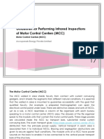 Guidelines for Performing Infrared Inspections of Motor Control Centers (MCC)