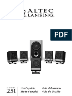 [DIAGRAM_3NM]  Altec Lansing 251 User Manual | Loudspeaker | Ac Power Plugs And Sockets | Altec Lansing 251 Wiring Diagram |  | Scribd