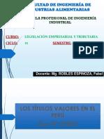 TITULOS VALORES EPII