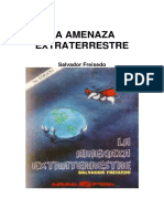 Freixedo- La Amenaza Extraterrestre