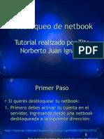 Desbloqueo de Netbook