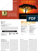 Out of Africa and Around the World Booklet