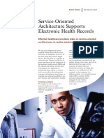 Service-Oriented Architecture Supports Electronic Health Record