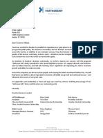 Greater Houston Partnership letter