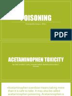 Poisoning (NCM)